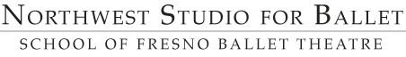 Northwest Studio for Ballet Logo